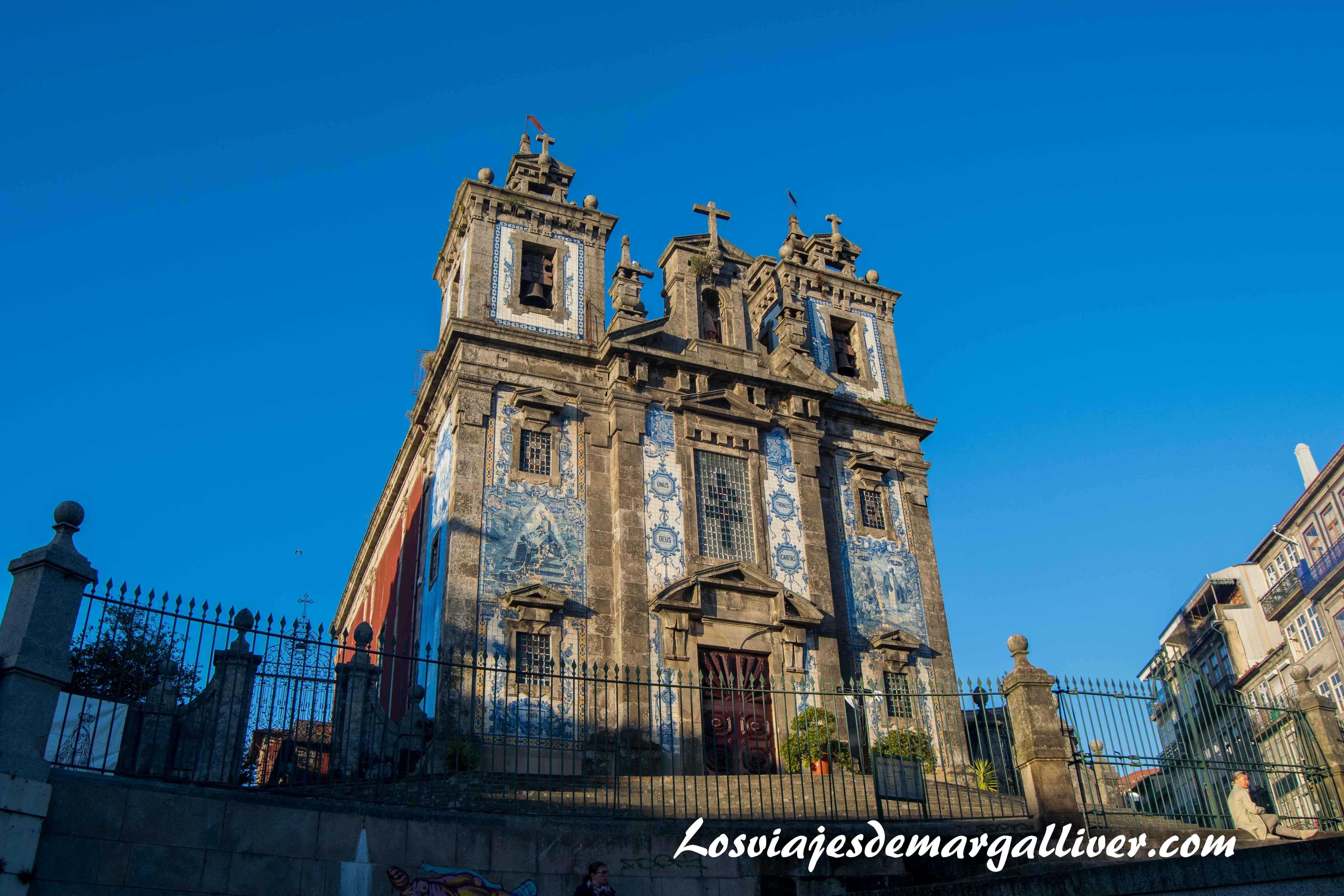 Iglesia de San Ildefonso en Oporto - Los viajes de Margalliver que ver en Oporto